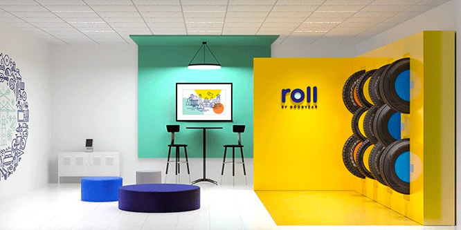 Will Goodyear roll over rivals with new Millennial-friendly showroom concept?