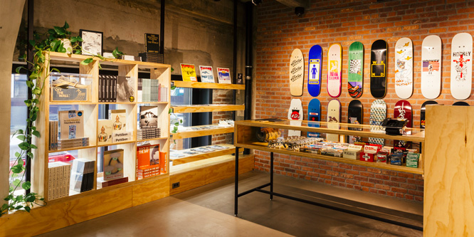 New Vans store designed as an homage to LA's skate history